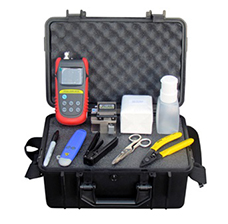 FITEL S123M12 Ribbon Fusion Splicer Kit, w 2 x 12-Ribbon Holders, Cleaver, Thermal Stripper & accessories
