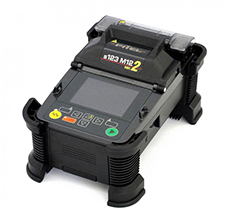 FITEL S123M12 Ribbon Fusion Splicer Kit, w 2 x 12-Ribbon Holders, Cleaver, Thermal Stripper & accessories By Upeka Trading