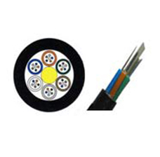 GYFTY Non-metallic Stranded Loose Tube Fiber Optic Cable