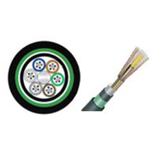 GYTA53 Stranded Loose Tube Fiber Optic Cable, 2-216 cores