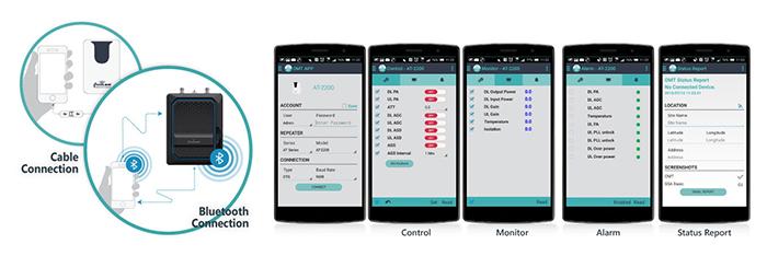 Repeater Configuration Mobile App