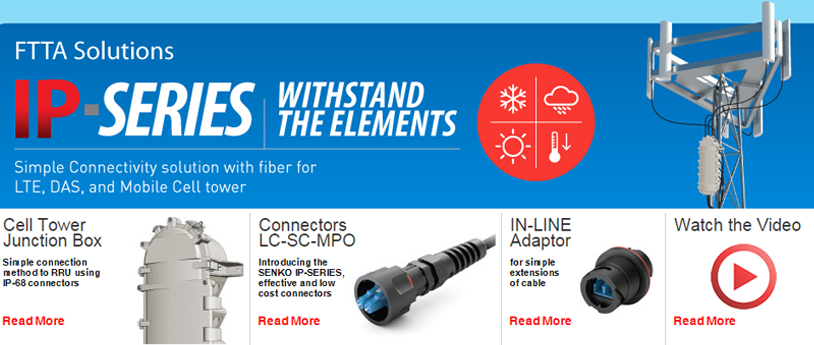 Simple Connectivity Solution with finer for LTE,DAS & Mobile cell tower